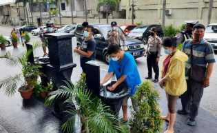 Polresta Pekanbaru Batasi Kapasitas Pengunjung di Pusat Perbelanjaan dan Tempat Wisata