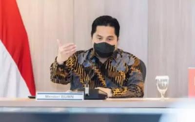 Erick Thohir: Hanya 10 BUMN Saja yang Mampu Berkontribusi ke Negara